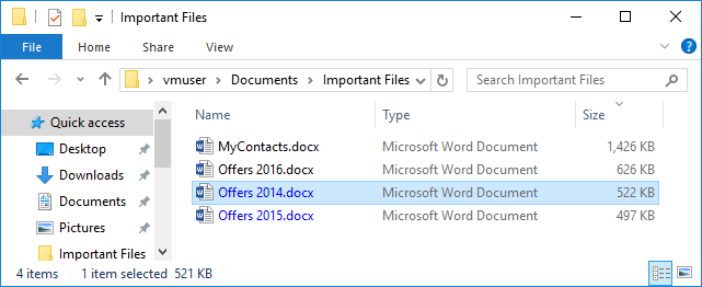 NTFS compressed files in Windows Exporer