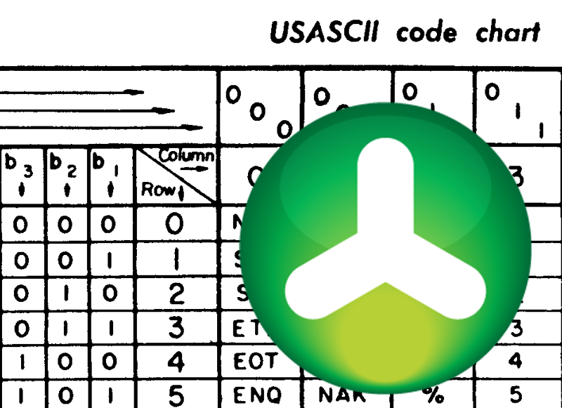 how to create ascii text file